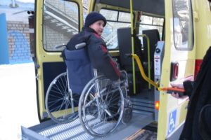 Автотранспорт ребенок инвалид московская область
