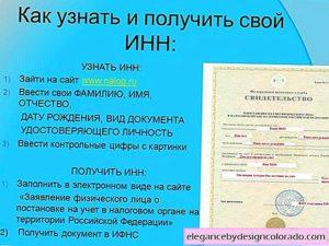 Получение инн гражданином белоруссии