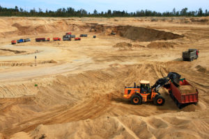 Как получить песчаный карьер