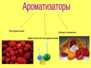 Что значит ароматизатор идентичный натуральному