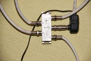 Как обратно подключиться к домашней антенне