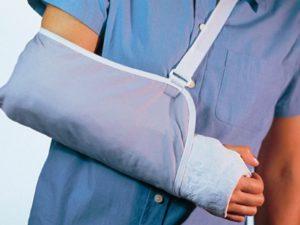 Оплата больничного при переломе руки бытовой