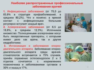 Реферат на тему профессиональные заболевания медицинских сестер