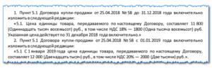 Изменение ндс с 2020 года как прописать в договоре