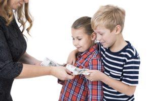 Алименты родителей на детей с детским домом