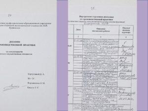 Дневник по практике бухгалтера заполненный дням образец