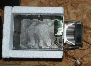 Автохолодильник своими руками на элементах пельтье