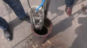 Как перекрывают канализацию должникам в москве видео