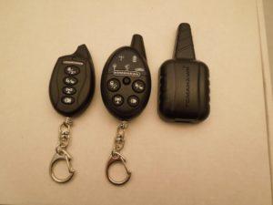 Определить автосигнализацию по брелку томагавк