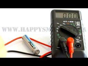 Как пользоваться мультиметром проконнект дт 182