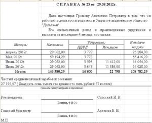Форма запроса 1 для субсидии образец заполнения если нет начислений