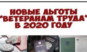 Будут ли платить ветеранам труда новосибирской области 2020 году