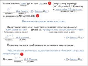 Как правильно писать под отчет или подотчет