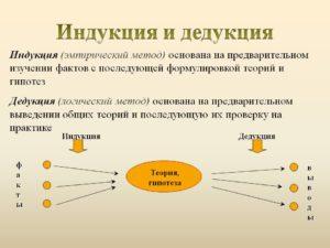 Пример индукции в экономике