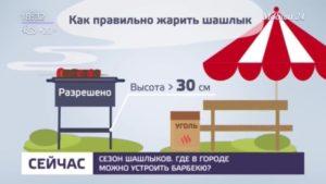 Где разрешено жарить шашлыки в москве 2020