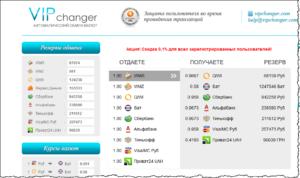 Как создать свой обменник валют в интернете