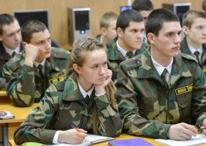 Куда поступить девушке в военный вуз