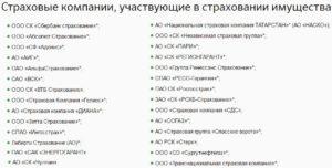 Список страховых компаний аккредитованных россельхозбанком на 2020 год