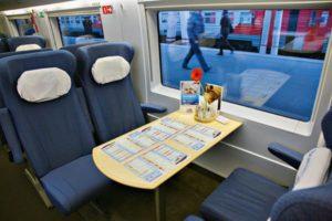 Что входит в стоимость билета в вагоне бистро сапсан
