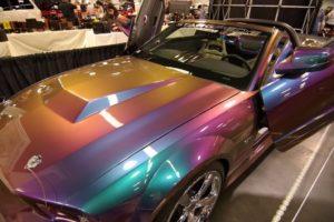 Покраска авто в цвет хамелеон и постановка на учет