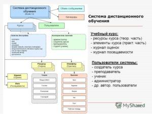 Система дистанционного обучения сети магнит