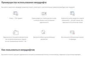 Овердрафт втб 24 зарплатная карта условия