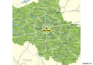 Перечень региональных автодорог московской области