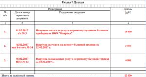 Книга учета доходов для ип на патенте 2020